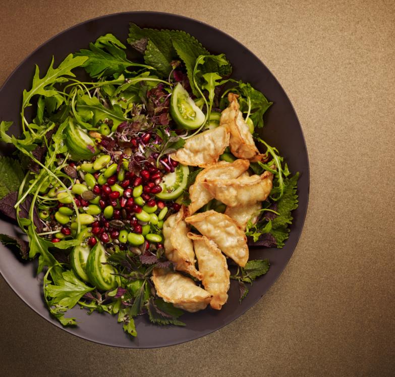 Ajinomoto - Gyoza deepfried salad